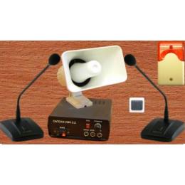 """Переговорное устройство """"ГРОМ-М"""" (система громкой связи и оповещения на АЗС) - фото 4815"""